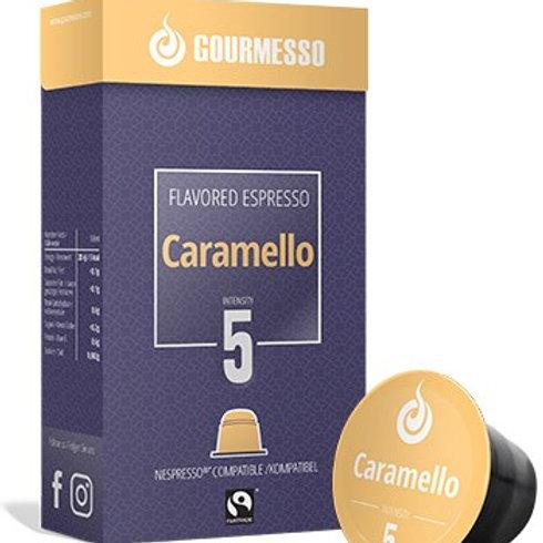 Nespresso® Kompatible Kapsel GOURMESSO FLAVORED ESPRESSO CARAMELLO Kaffeekaps