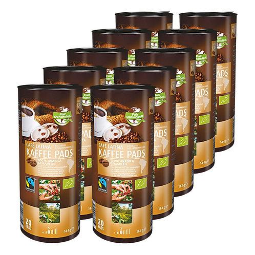 Cafet Kaffee Pads Bio Fairtrade Cafe Latina  144 g, 20 Stück