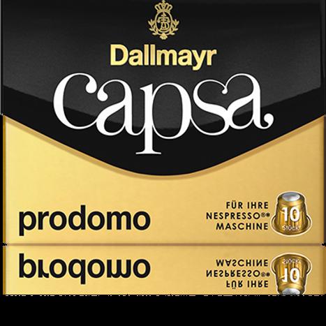Nespresso® Kompatible Kapsel von Dallmayr Capsa Dallmayr PRODOMO