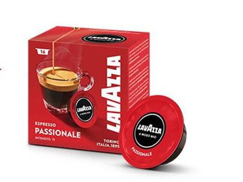 LAVAZZA® A MODO MIO Kompatible Kapsel Espresso Passionale
