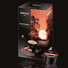 MARTELLO® Kompatible Kapsel DECAFFEINATO