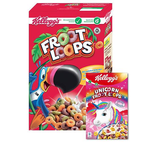 Kellogg's Froot Unicorn Loops 375 gramm