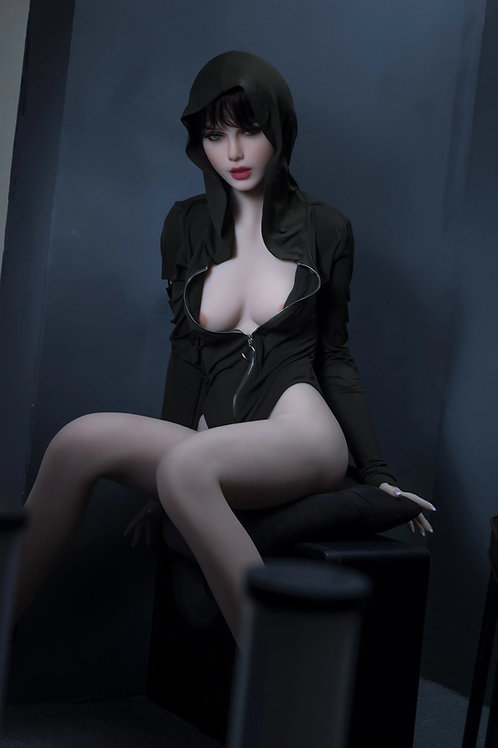 Silikon Sexdoll mit Skelett 158cm Angelina