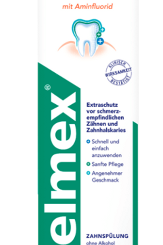 Elmex Mundspülung Sensitive, 400 ml
