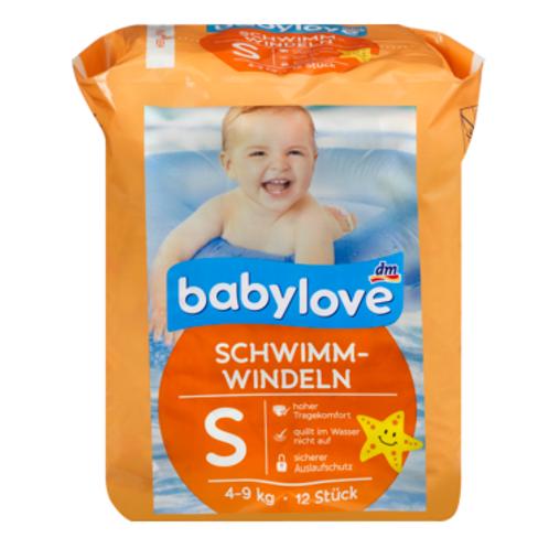 Babylove Schwimmwindeln Grösse 3 = 4-9 Kg
