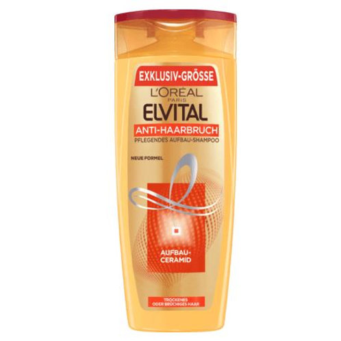 L'Oreal Elvital Shampoo Anti-Haarbruch, 400 ml