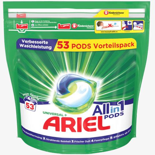 Ariel Vollwaschmittel All-in-1 PODS Universal, 53 Wl