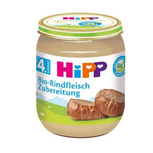 Hipp Zubereitung Bio-Rindfleisch nach dem 4. Monat, 125 g