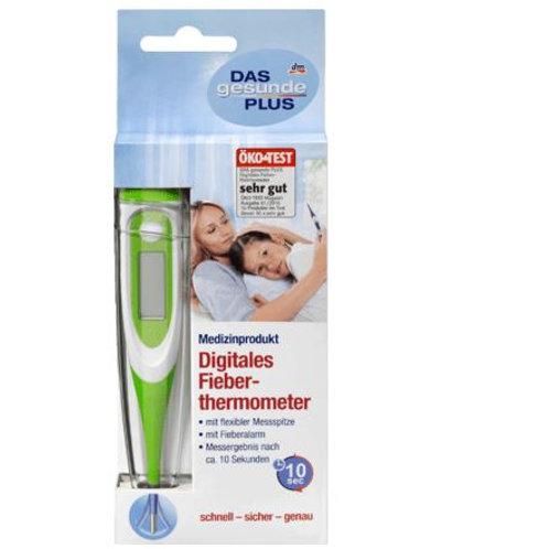 DAS gesunde PLUS Digitales Fieberthermometer mit flexibler Messspitze, 1 S