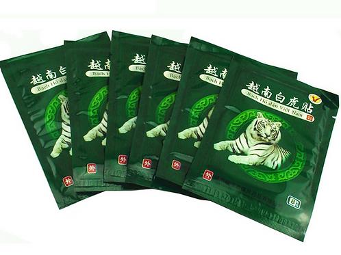 Weisses Tiger Balm Vietnam Wärmepflaster im 8er Beutel