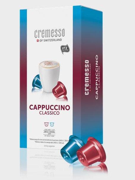 DELIZIO® Kompatible Kapsel CREMESSO *CAPPUCCINO CLASSICO*