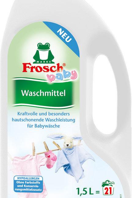 Frosch Flüssigwaschmittel Baby Hypoallergen 1500 ml