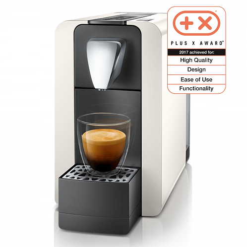 Kaffeemaschine *DELIZIO* Modell COMPACT ONE II weiss