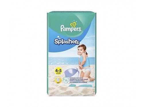 Pampers Splashers Grösse 4-5 Schwimmwindeln 11 Stück