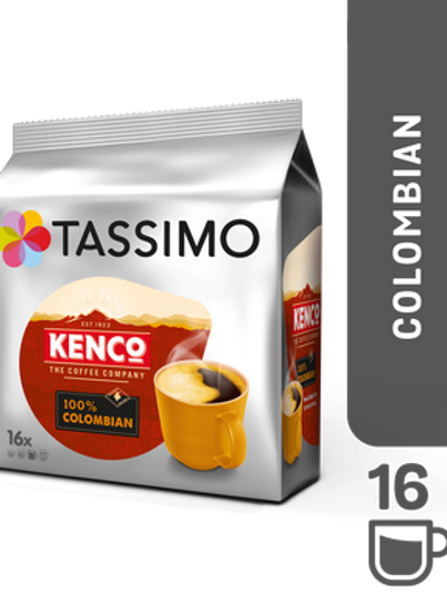 Jacobs Caffé Kenco Pure Colombian System TASSIMO