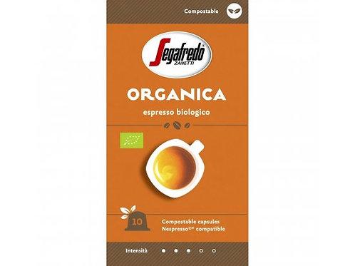 Nespresso® kompostierbare Kapsel von SEGAFREDO Espresso BIO ORGANICO