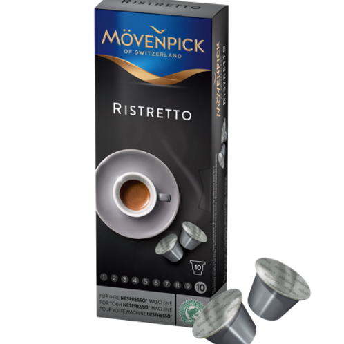 Nespresso® kompatible Kapsel Mövenpick Ristretto