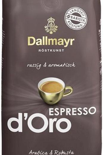 Ganze Kaffeebohnen Dallmayr Espresso d'Oro 1kg