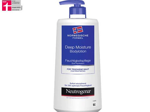 Neutrogena Körperlotion Deep Moisture, 400 ml