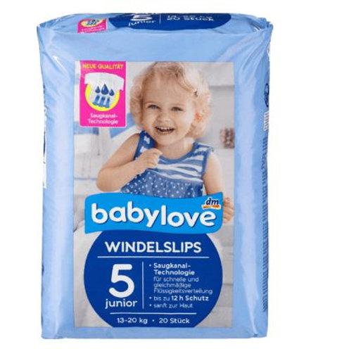 babylove Pants Windelslips Größe 5 junior, 13-20kg, 20 St