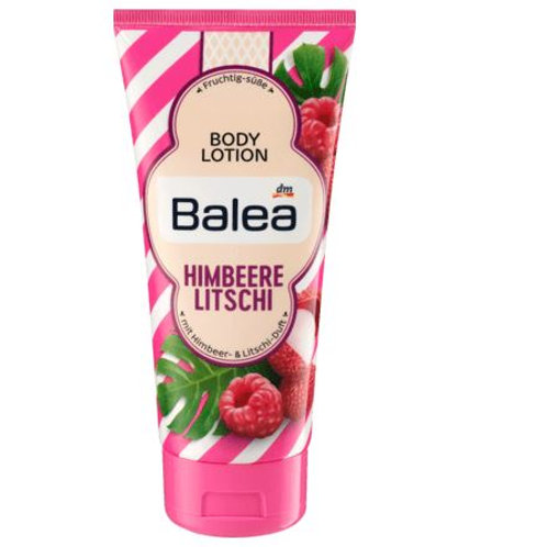 Balea Bodylotion Himbeere & Litchi, 200 ml