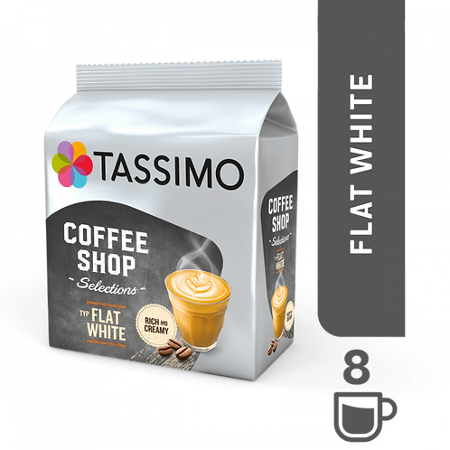 Coffee Shop Flat White System TASSIMO