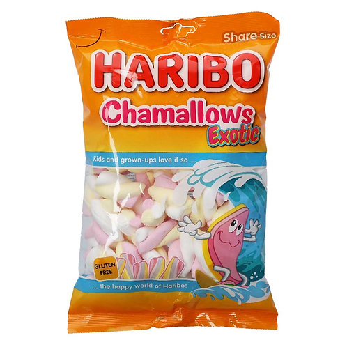 Haribo Chamallows Exotic 175g (Glutenfreie Marshmellows)