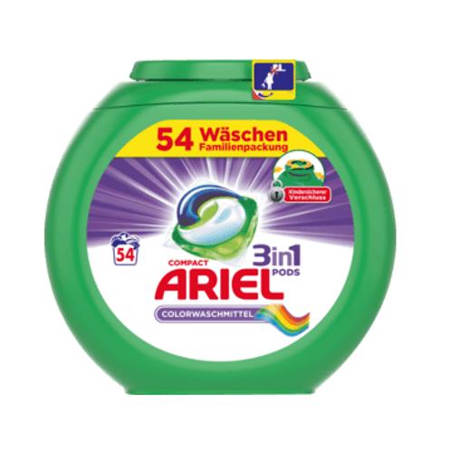 Ariel Colorwaschmittel 3in1 PODS, 58 Wl