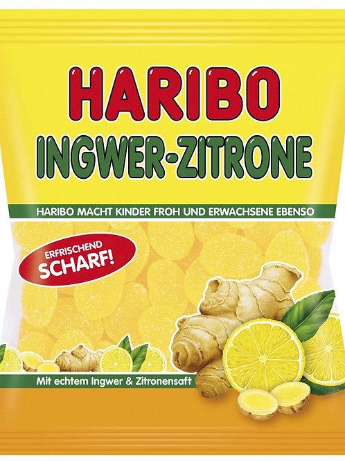 Haribo Ingwer Zitrone erfrischend Scharf, Beutel 175g