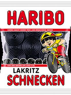 HARIBO LAKRITZ SCHNECKEN, Beutel 200 gramm