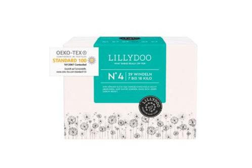 Lillydoo Premium Baby Nummer 4 Windeln 7-18 Kilo 29 Stück.