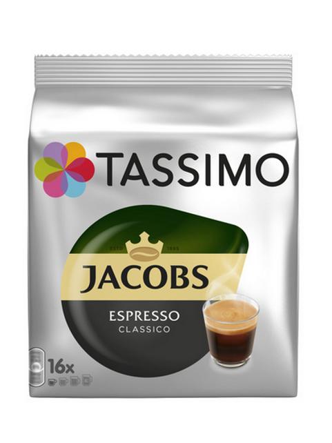Jacobs Kaffee Espresso Classico  System TASSIMO