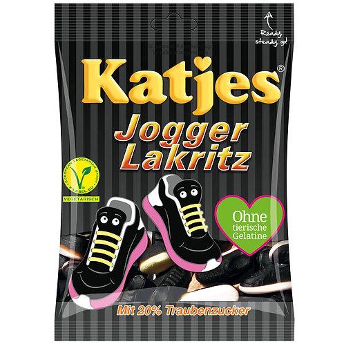 Katjes Jogger Lakritz, Beutel 200 gramm
