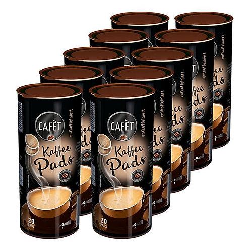 Cafet Kaffee Pads Entkoffeiniert 144 g, 20 Stück