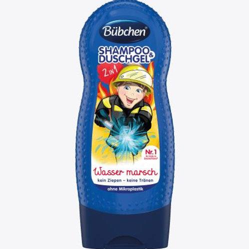 Bübchen Kids Shampoo & Duschgel Wasser marsch, 230 ml