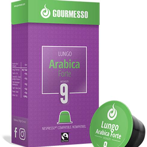 Nespresso® Kompatible Kapsel von GOURMESSO LUNGO ARABICA FORTE Kaffeekapseln