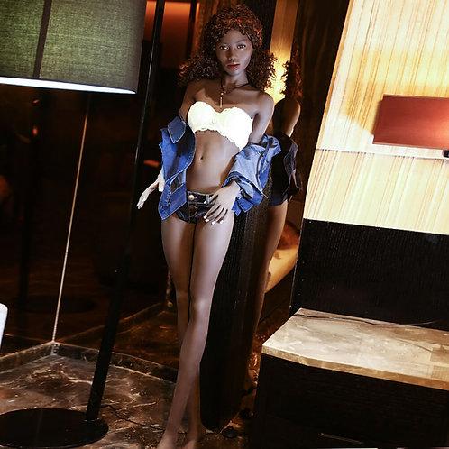 Silikon Sexdoll mit Skelett 168cm Angie