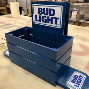 Bud Light condiment caddy