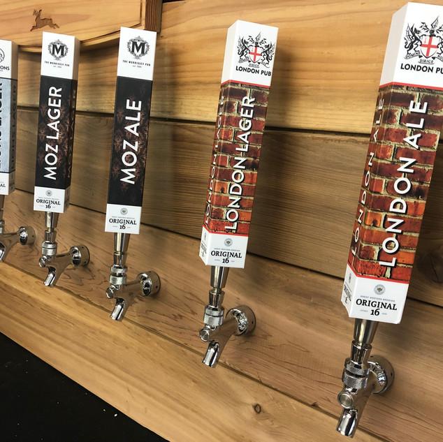 Original 16 tap handle