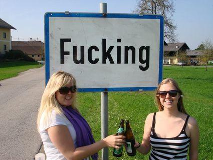 Fucking Hell, beer, Fucking, Austria
