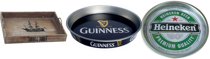serving trays, keg collar, POP, beer brading, brewery branding, brewers marketing