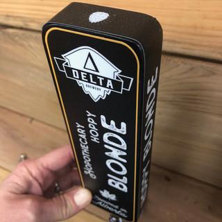 Delta Brewing Tap Handle
