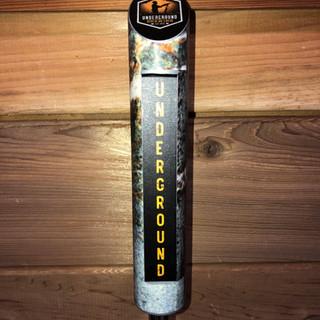 Underground Brewing Compnay Tap Handle