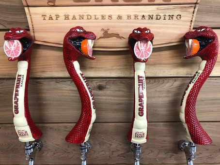 A Rhumba of Tap Handles for Four Peaks Brewing Company