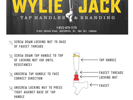 How to Install a Tap Handle