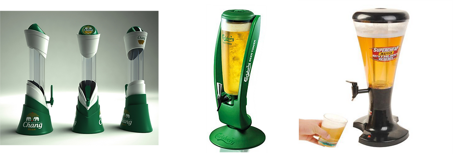 beer towers, Led Signs Canada, POP, beer brading, brewery branding, brewers marketing