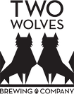 two wolves brewing company, tap handles, beer tap handles, tap handles canada, beer branding, brewery branding