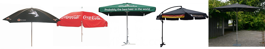 Led Signs Canada, POP, beer brading, brewery branding, brewers marketing, umbrellas