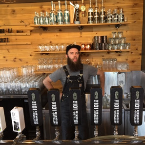 The 101 Brewhouse & Distillery Tap Handles