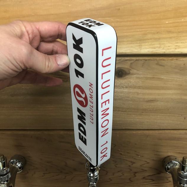 Polar Park Brewing Co. tap handle, Lululemon
